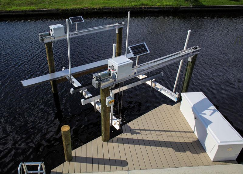 Solar Boat Lift U S Boat Lift U S
