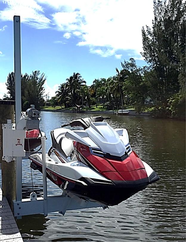 Jet Ski Lifts For Sale >> Up N Over Pwc Lift Jet Ski Lifts Boat Lift U S
