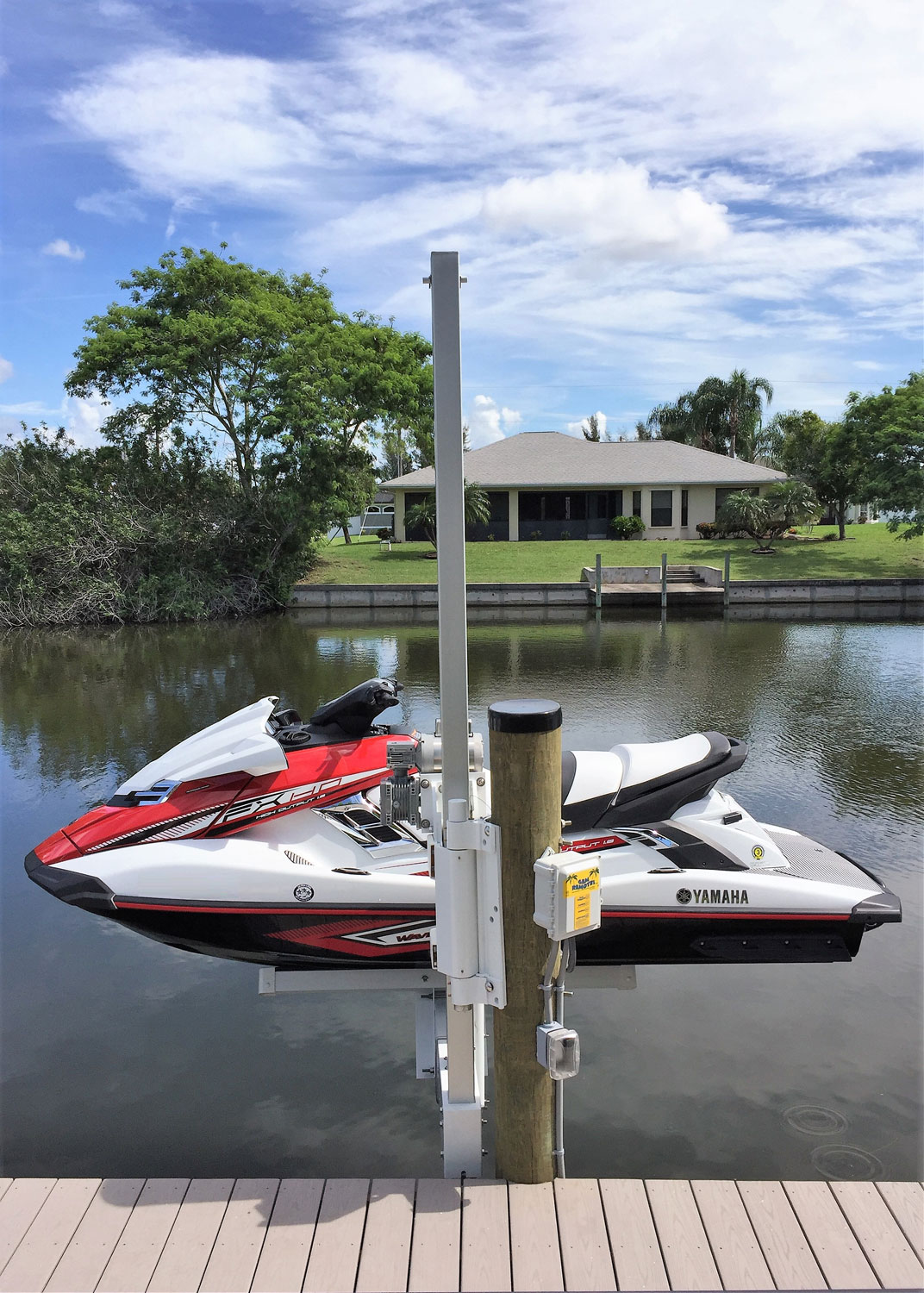 Jet Ski Lifts For Sale >> Up N Over Pwc Lift Jet Ski Lifts Boat Lift U S
