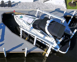 Aluminum Boatlifts Boat Lift Motors Hoist Amp Jetski Lifts
